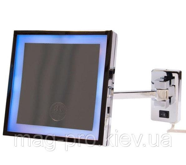 Купить Зеркало с LED подсветкой Hotek Kubic код H-698-KUBIC1