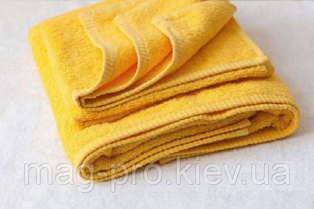 Купить Полотенце желтое Турция 70х140 плотность 450 код 25010