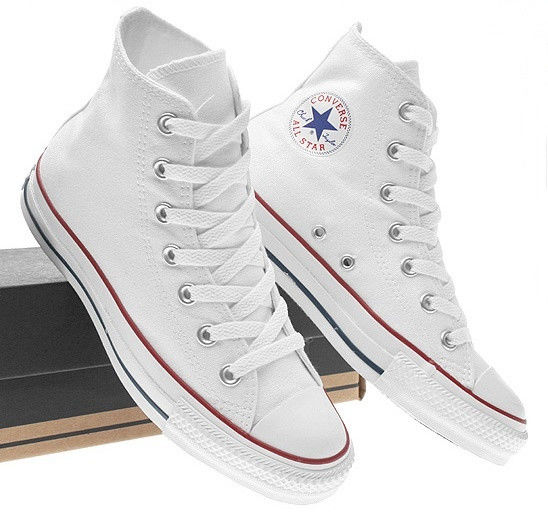a2aa4537612a Кеды Converse All Star высокие женские белые Оригинал (конверсы низкие). кеды  converse