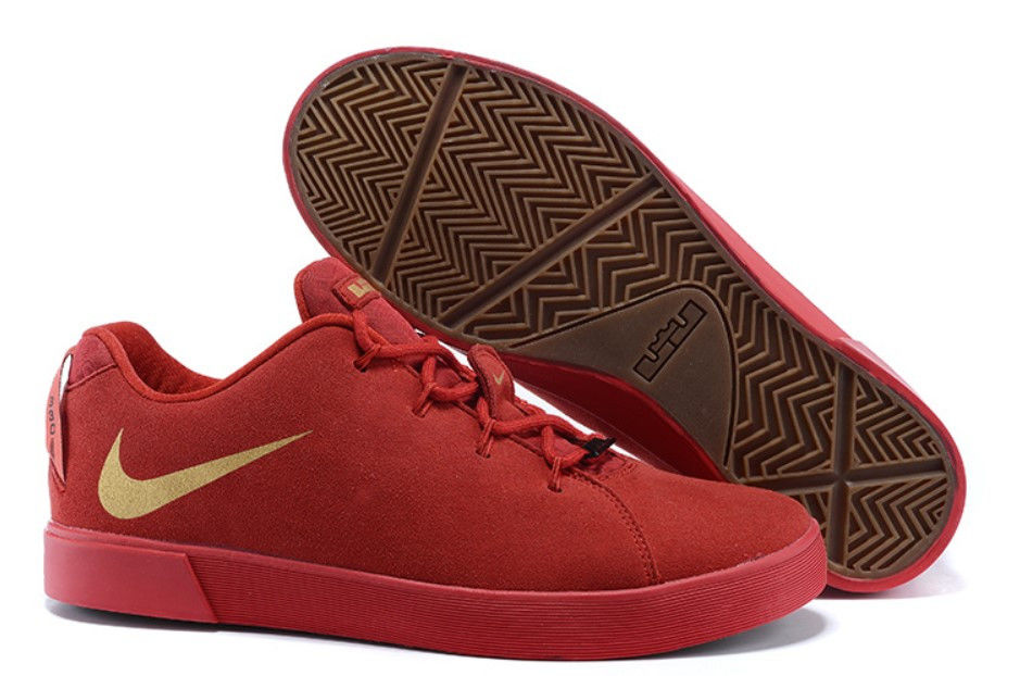 fdb25456 Кроссовки баскетбольные мужские Nike LeBron 12 XII NSW Lifestyle Low Tops  Casual Shoes Red