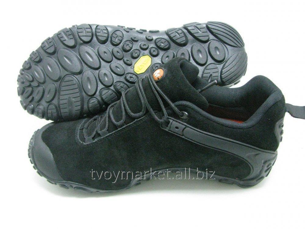 3b0420e0 Зимние кроссовки Merrell 812 нубук черные Оригинал купить в Киеве