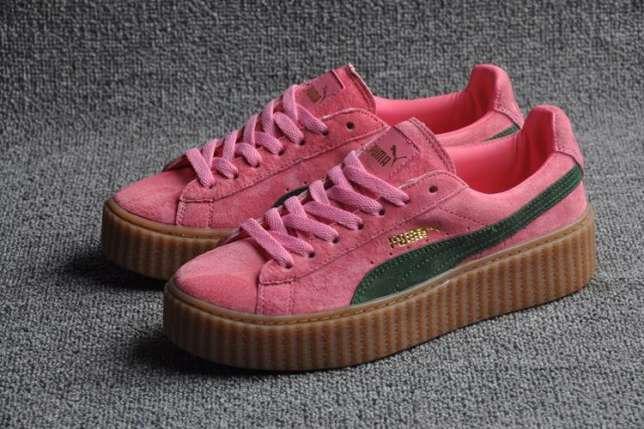 bda69a37 Кроссовки Puma Rihanna x Puma 900440 Оригинал розовые женские купить ...