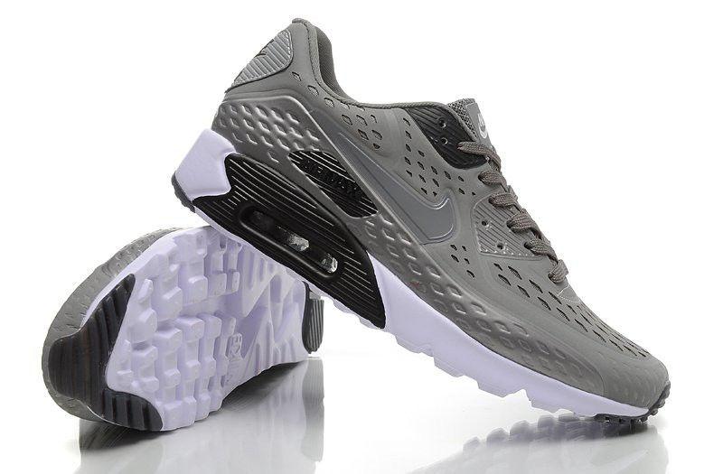 Мужские Кроссовки Nike Air Max 90 Ultra BR Grey мужские серые купить ... c509cf24cf7