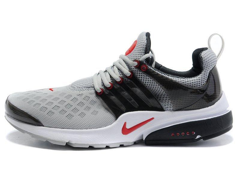 461c2858 Кроссовки Nike Air Presto серо-красные беговые кроссовки купить в Киеве