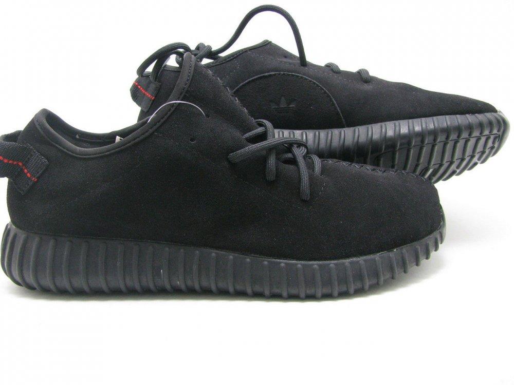 0e38de74 Кроссовки мужские Adidas Yeezy Boost 350 Low Замшевые Оригинал черные