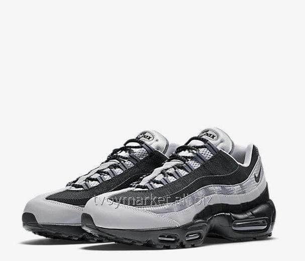 2320645a Кроссовки мужские Nike Air Max 95 Essential Black/Wolf Grey оригинал ...