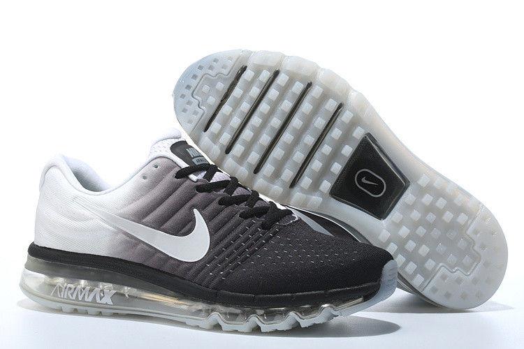 Кроссовки Nike Air max 2017 Черные-белые (Оригинал). кроссовки найк мужские a38e6d59b5f