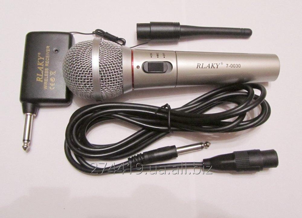Купить Динамический радио микрофон 2в1 - RLAKY 7-0030