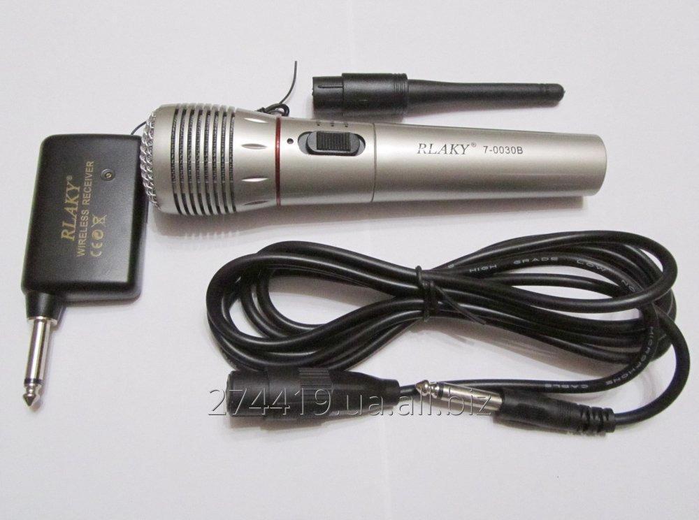 Купить Динамический радио микрофон 2в1 - RLAKY 7-0030B