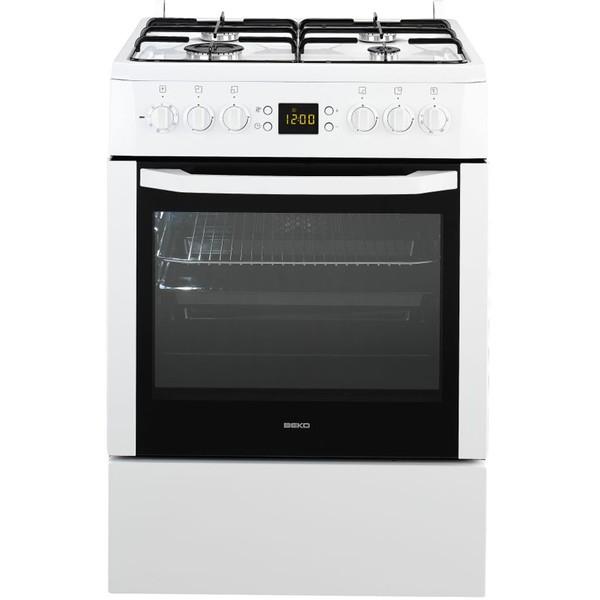 Комбинированная кухонная плита Beko FSM 62320 DWS