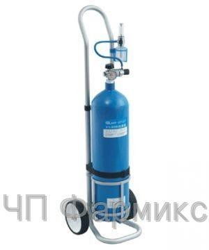 Купить Баллоны кислородные с тележкой для транспортировки 6,3 л