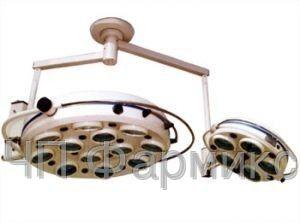 Купить Светильник операц. бестеневой ZMD-II- «БИОМЕД» семнадцатирефлекторный потол. (два блока, 12+5)