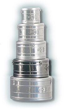 Купить Коробка стерилизационная круглая КСК-12 (Объем 12 дм3, Диаметр 340мм)