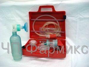 Купить Аппарат для искусственной вентиляции легких c ручным приводом АДР-600