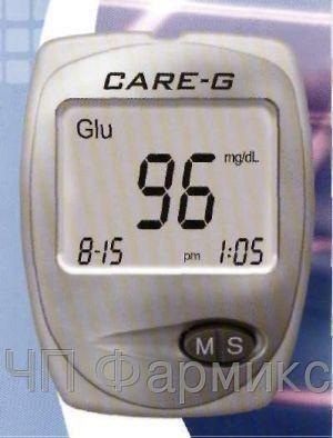 Купить Аппарат для определения уровня глюкозы в крови «СARE-G»