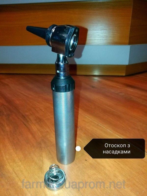 Купить Отоскоп з насадками Отоскоп Set комплект для діагностики із стандартним освітленням