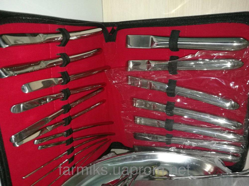 Купить Набір інструментів гінекологічних, розширювачів По Гегару19 одиниць від 1,5 до 19,5 повний