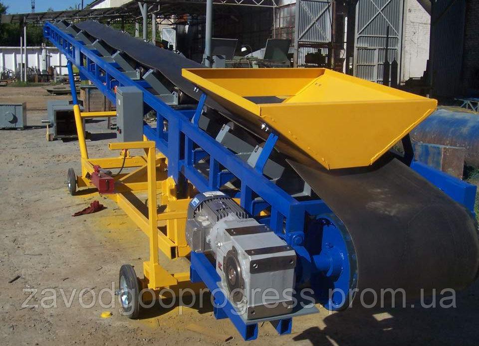 Передвижной ленточный транспортер для зерна фольксваген транспортер технические характеристики т2