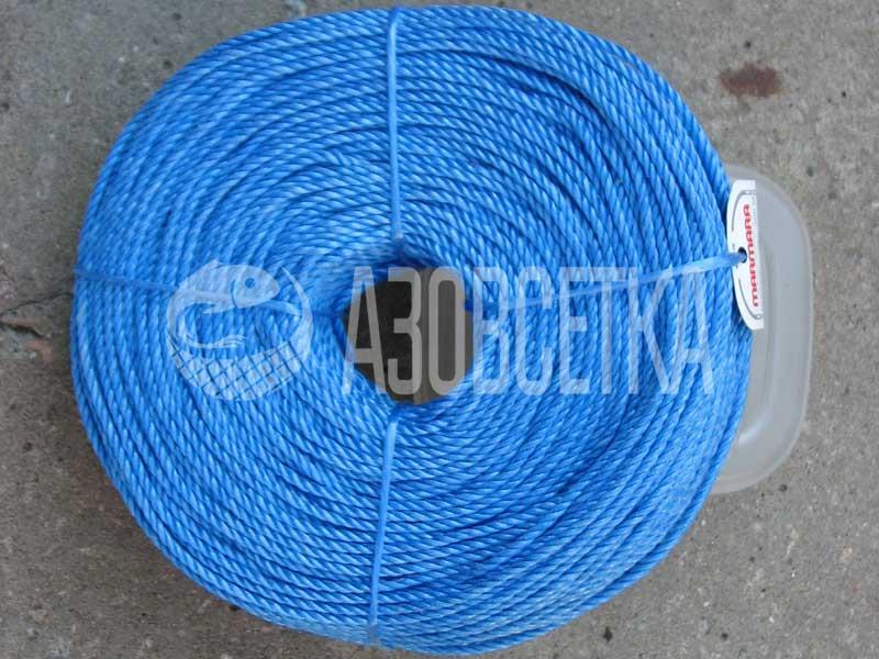 Полипропиленовая веревка Marmara 4,0 мм, бухта 200 м