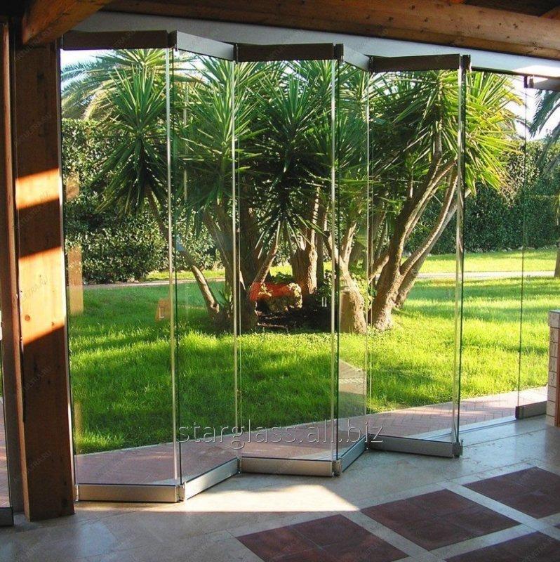Двери гармошка StarGlass