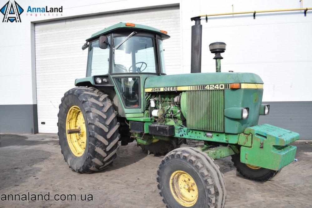 Купить Трактор JOHN DEERE 4240