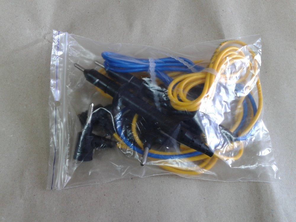 Комплект шнуров, проводов для мегаомметров ЭС0202, ЭС0210