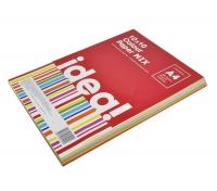Купить Бумага цветная набор А4 80 г/м 100л IDEA! 10х10 Colour MIX