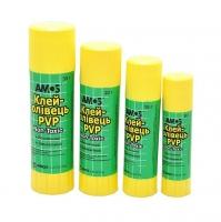 Купить Клей-карандаш 15г PVP Amos 100102 20/720шт/уп без НДС