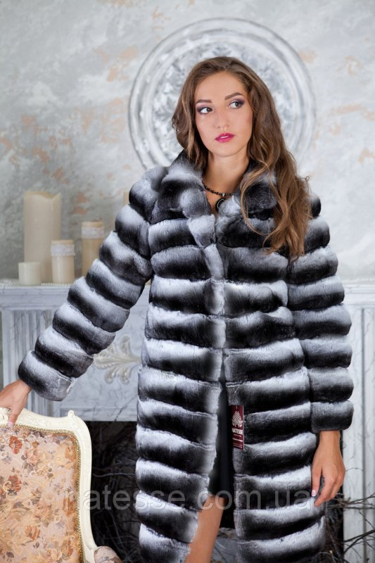 "Шуба из шиншиллы ""Алиса"" Natural chinchilla fur coats jackets"