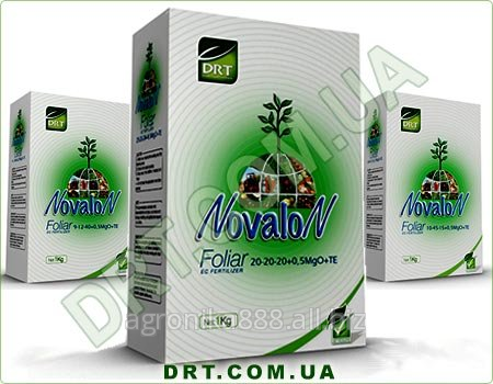 Удобрение Новалон Фолиар 20-20-20+МgO+ ME, 10-45-15+0,5 MgO+ME