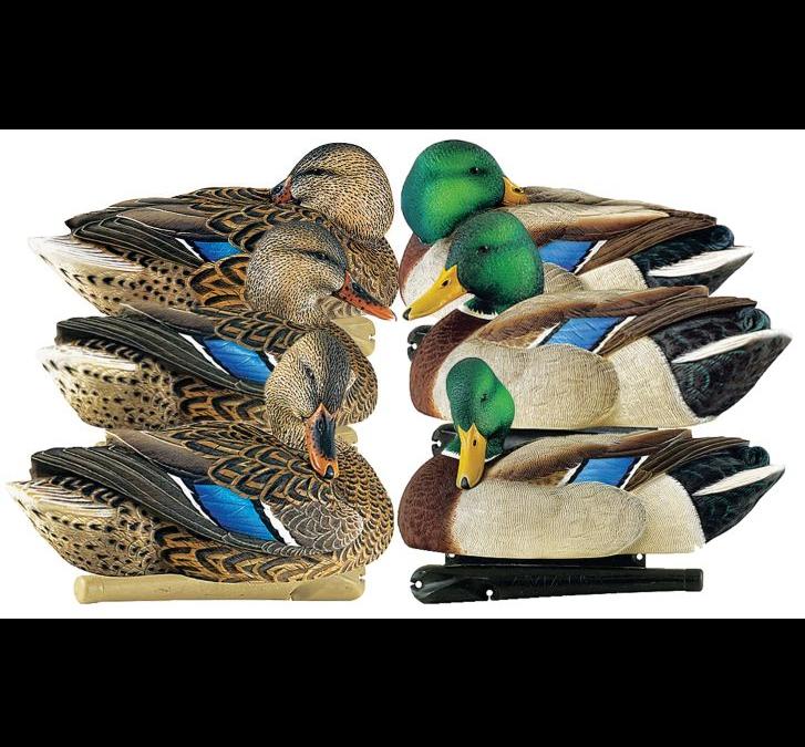 Купить Чучела уток Avian-X Topflight Preener/Sleeper Mallards, 6 Pack