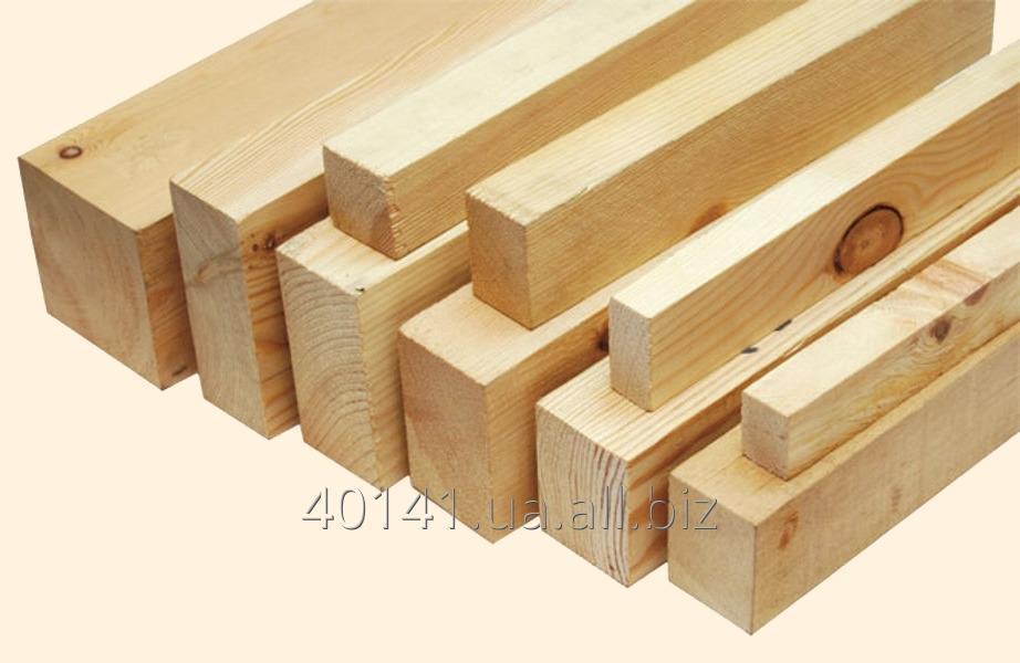 Купить Профилированный брус естественной влажности, брус деревянный