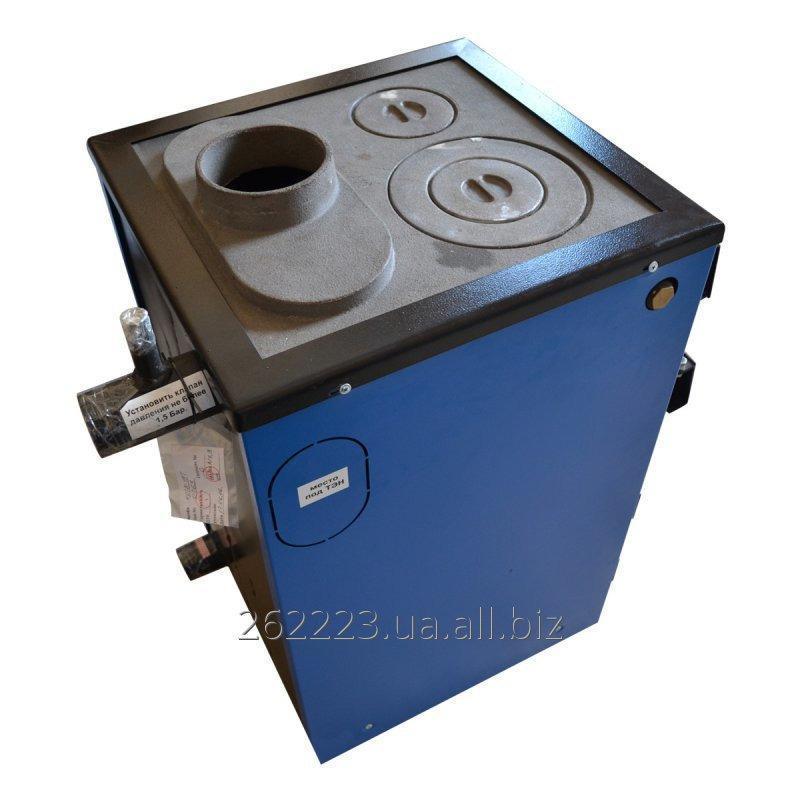 Купить Котел на твердом топливе с плитой Tehni-x KOTВ18-УП