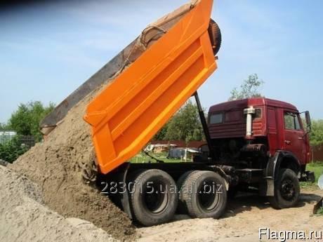 Купить Песок речной 10 т самосвалом 110 грн./т