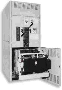 Автоматический переключатель серии 7000 с использованием изолированного байпаса