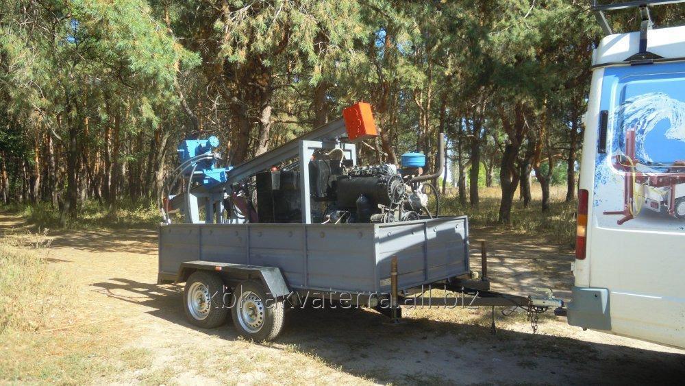 Купить Малогабаритная буровая установка на двуосном прицепе «RD2 – 150»