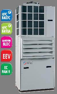 Моноблочный прецизионный кондиционер Hiref  HTW мощностью 4,5 - 29,1 кВт