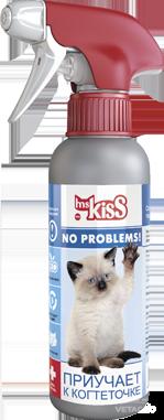 Купить Спрей зоогигиенический Приучает к когтеточке для кошек Мисс Кисс 200 мл