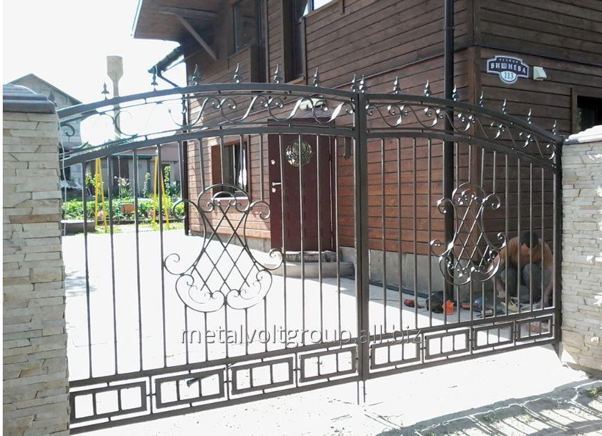 Купить Кованые ворота модель 1