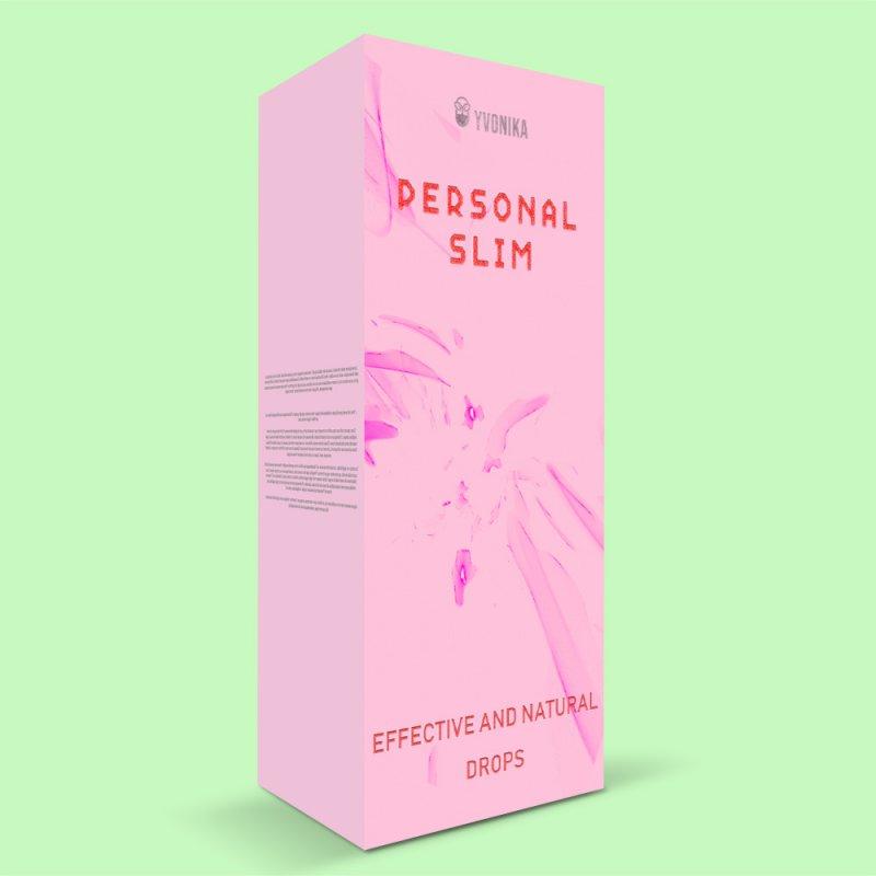 Капли Personal Slim Персонал Слим для похудения