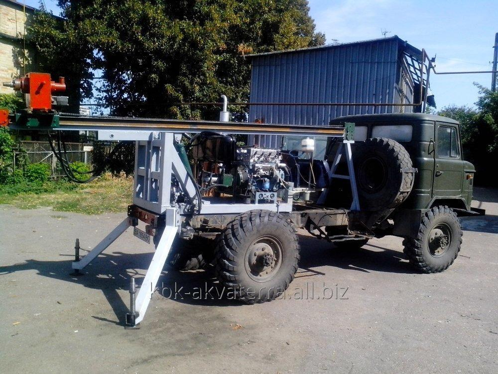 Buy The hydraulic drilling rig on the GAS 66 base