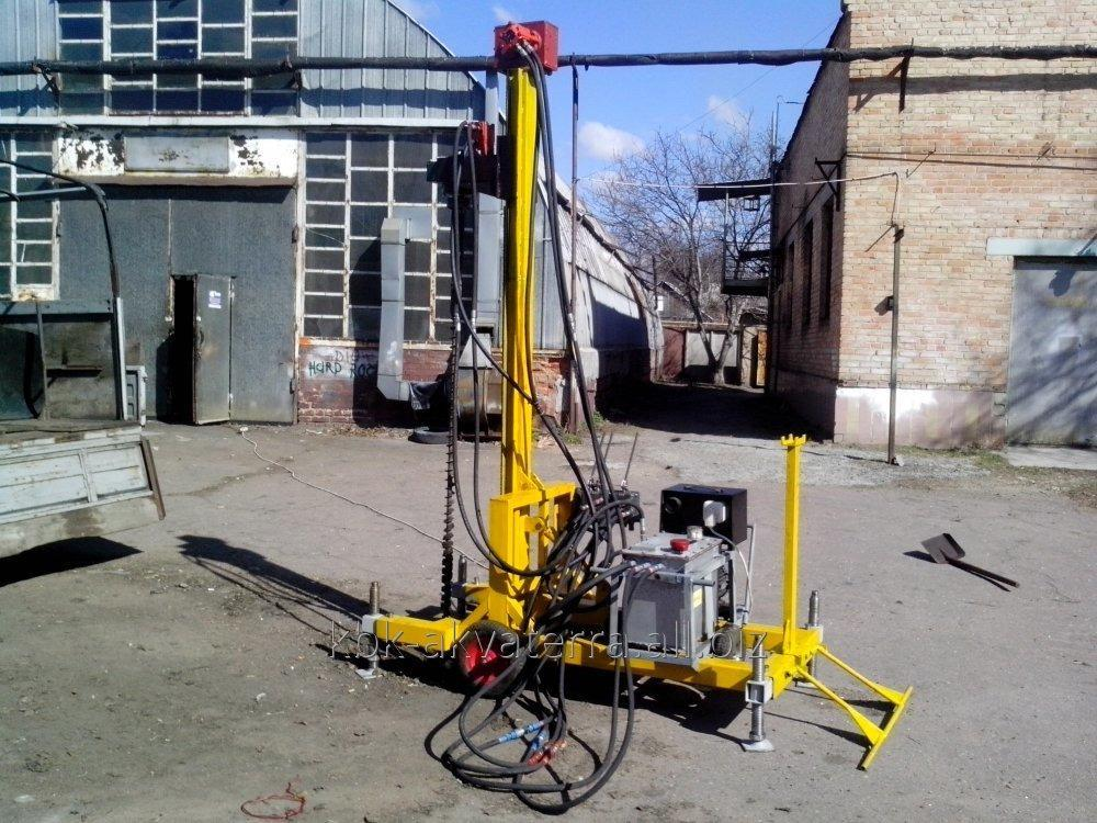 Buy Hydraulic drilling rig 220/380 of volts