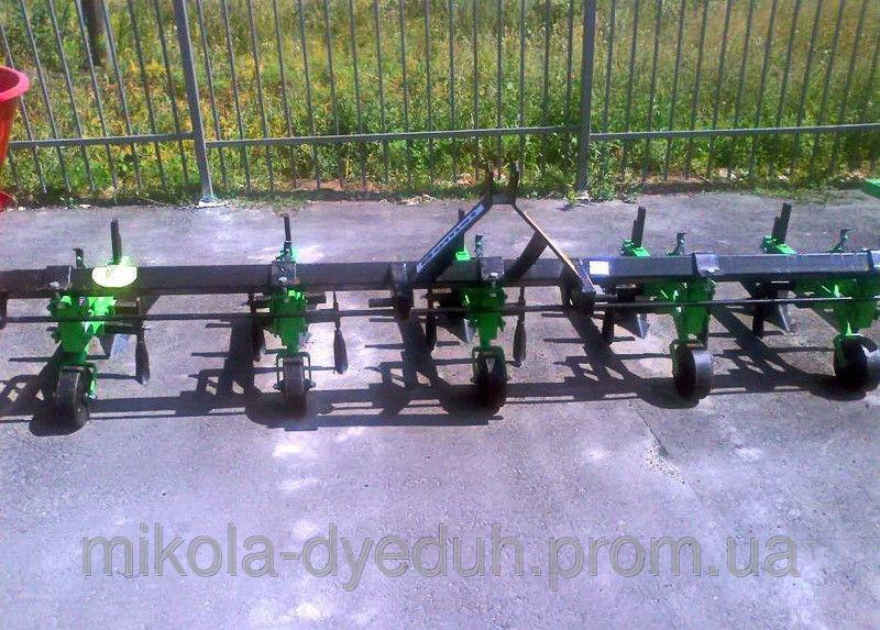Купить Культиватор междурядный 5-рядный Bomet.КМО 5-70