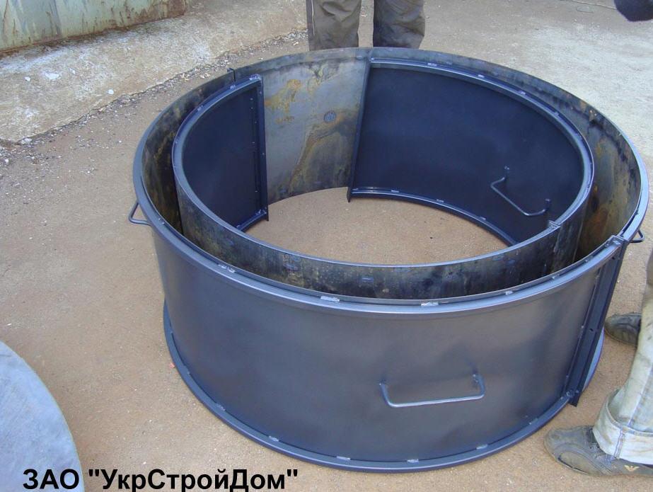 Как сделать формы для бетонных колец своими руками