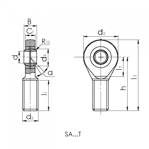 Купить Подшипник CRAFT SA12-T/K.CRF-P