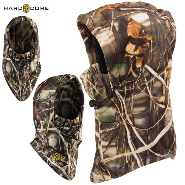 Купить Балаклава охотничья теплая Hard Core Waterfowl Hood - Neck/Face Mask