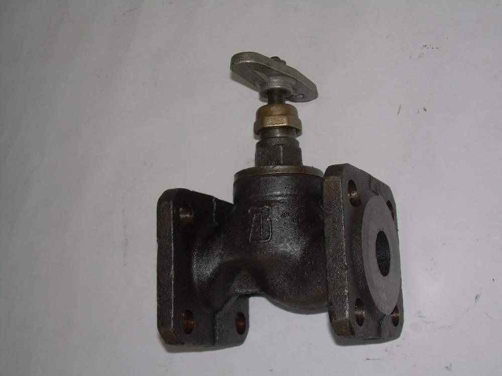 Вентиль (клапан) запорный проходной фланцевый 15кч34п, р1 15кч19п2  Ду25 Ру16,
