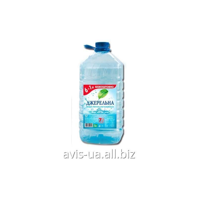Купить Питьевая вода Родниковая негазированная 7,0л