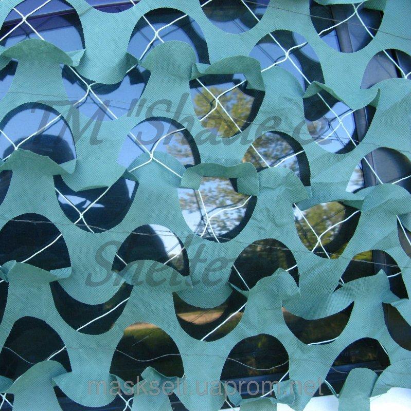 Купить Маскировочная сеть S&S DECO 75% покрытия (2*6м, 4*6м) зеленый, 4*6м