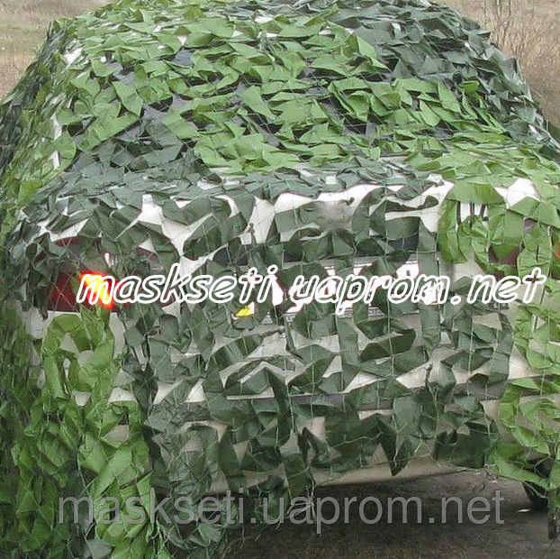 Купить Сетка маскировочная S&S Military зеленая двухцветная 3*3м